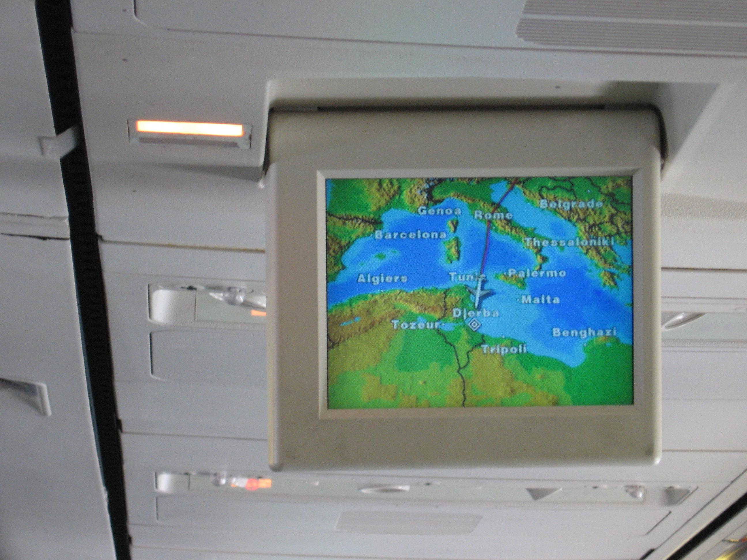 Approaching Djerba Airport