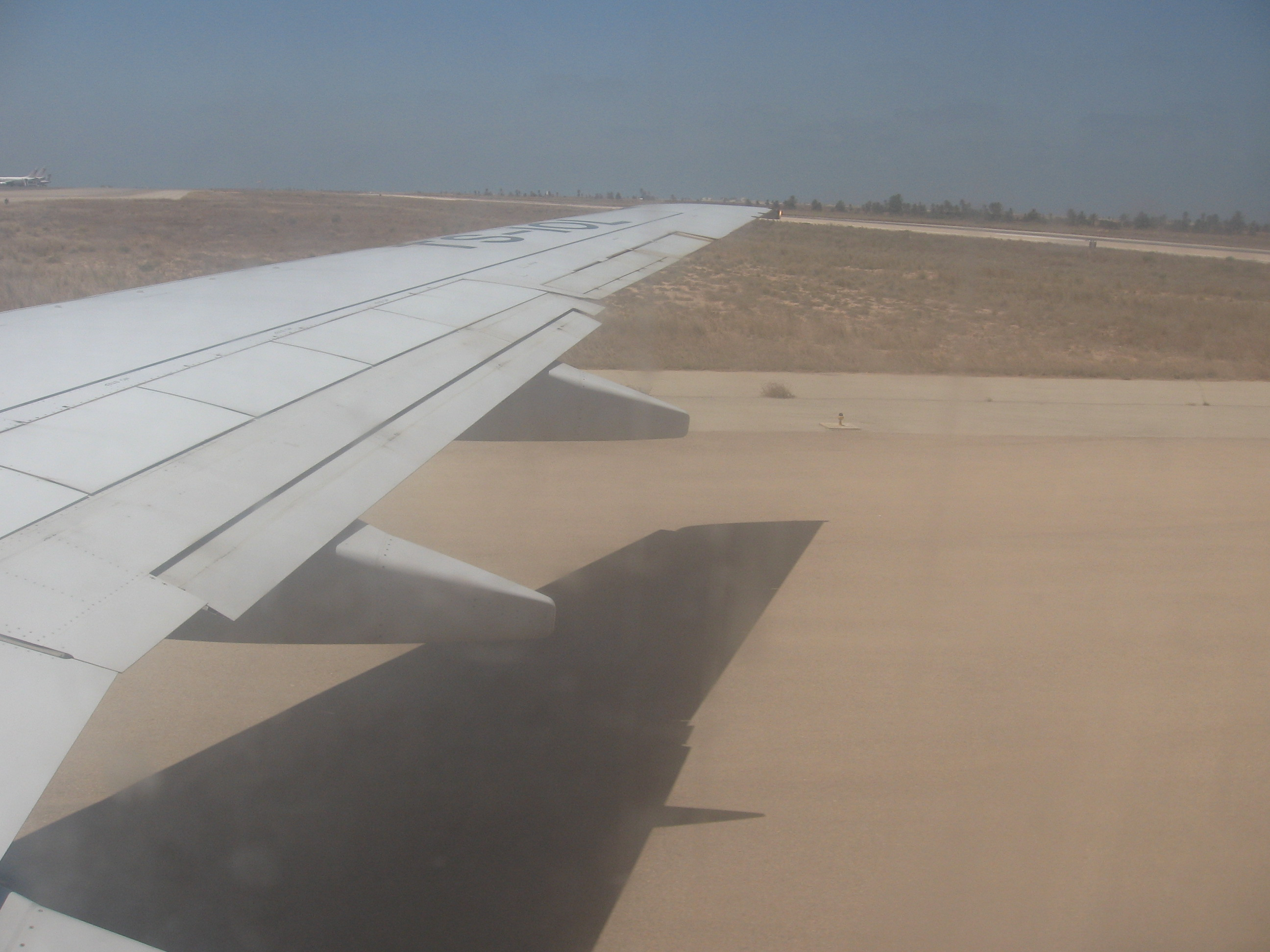 Landind on Djerba Airport
